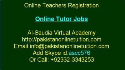 Teachers Registration For Saudi Arabia - Jobs
