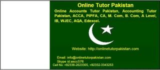 Online Accounts Tutor Saudi Arabia, Kuwait, Qatar, Bahrain, Pakistan