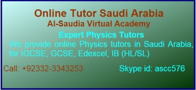 Online Physics Tuition Saudi Arabia, Expert Physics Tutors