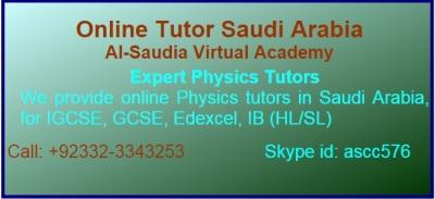 Physics Tuition Saudi Arabia