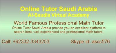 Online Tuition Saudi Arabia,