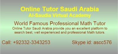 Online Algebra Tutors Saudi Arabia - K 12 Algebra Tutors