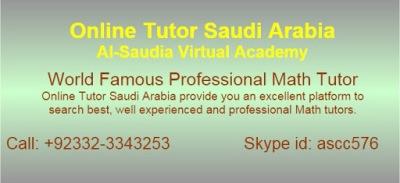 Online Math Tuition Saudi Arabia